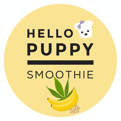 Hello Puppy Hemp and Banana Smoothie