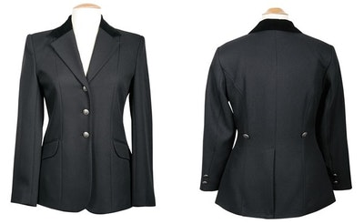 Harry's Horse Competition/Hunting Jacket - Black