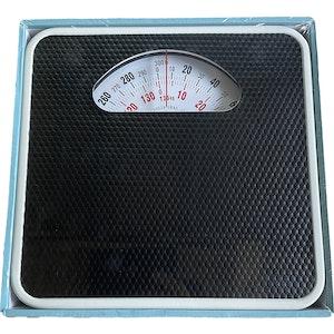 Health & Beauty Mechanical Bathroom Scale 136kg Black