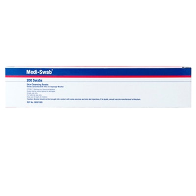 MEDIVET Medi Non Woven Cleansing Sterile Easy To Use Swabs 200 Pack