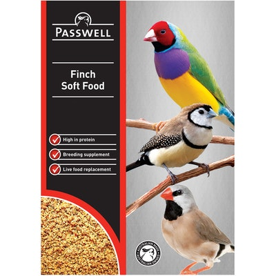 PASSWELL Finch Concentrated Soft Food Supplement - 4 Sizes