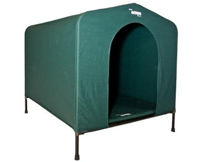 Hound House Anodised Steel Kennel for Dogs Green - 4 Sizes