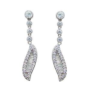 Ballerina Bridal Earrings