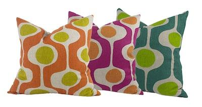 bob window Fluid cushion cover - Brights
