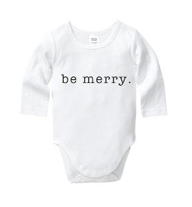Be Merry Onesie