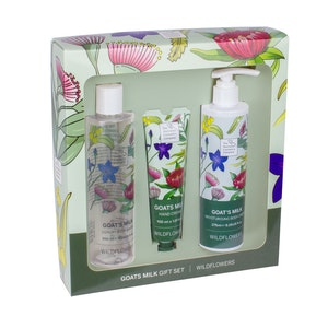 The Australian Cosmetics Company Goats Milk Wildflower Trio Set