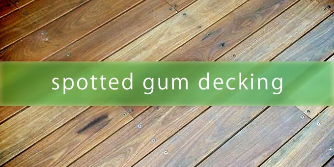 Spotted Gum Decking A Ideal Timber For Decking Reno Exchange