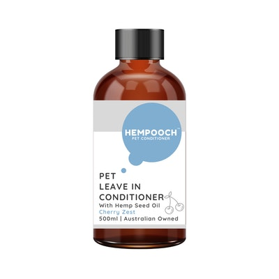 Hempooch™ Pet Leave In Conditioner with Hemp Seed Oil - Cherry Zest 500ml