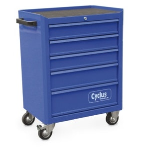 Cyclus Tools Tool Trolley With 5 Draws