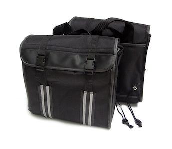 Oversized Soft Side Saddle Bags