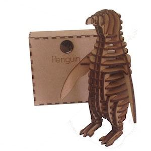 3D Wooden Penguin puzzle