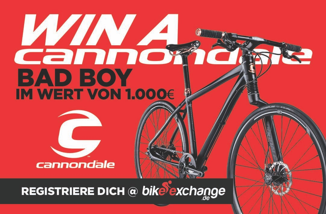 Das BikeExchange Cannondale BadBoy hat einen neuen Besitzer !