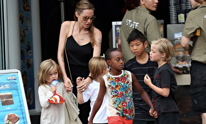 Angelina Jolie thoughts on work/life-with-children