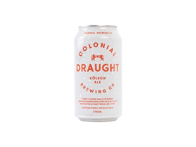 Colonial Brewing Co. Draught Can 375mL