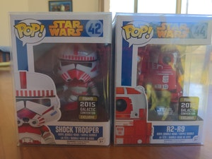 Shock trooper and matching R2 droid