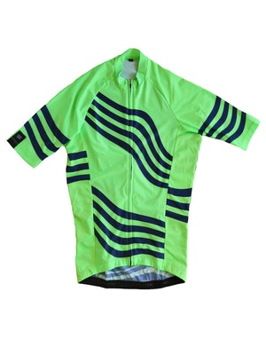 FOHER Men's Atlas Cycle Jersey Lime ARC