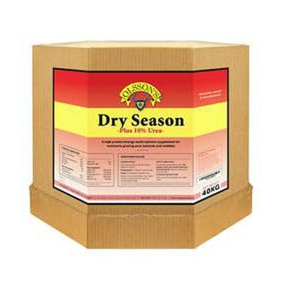 Olsson Dry Season + 10% Urea Cattle & Sheep Feed Supplement 15kg