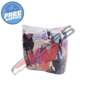 Coloured 10Kg Cotton Bag Of Rags