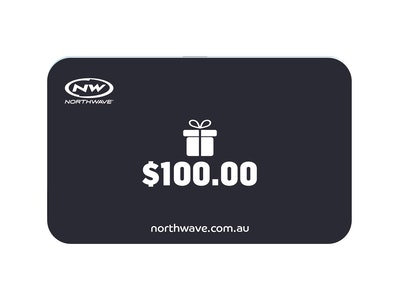 $100 Northwave Australia e-Gift Card