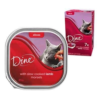 Dine Daily Variety Lamb Cuts In Gravy Wet Cat Food Tray