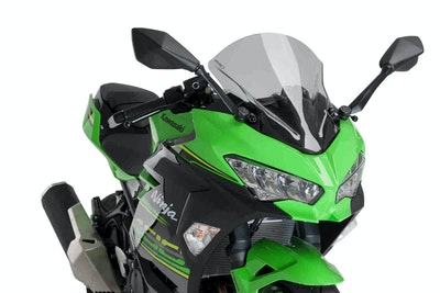 Kawasaki Ninja 400 2018 - Onwards Puig Z-Racing Screen (Smoke)