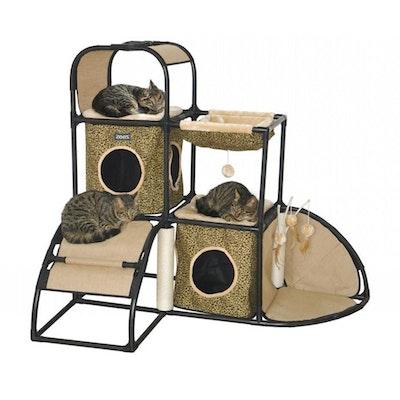Zeez Feline Corner Hideaway Fun House for Cats 115 x 80 x 105cm