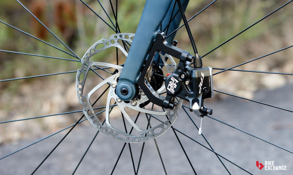 fullpage Fitting disc brakes to road bike 3