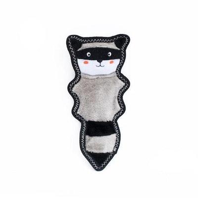Zippy Paws Z-Stitch Skinny Peltz - Raccoon