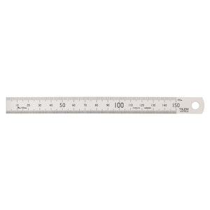 Toledo Stainless Steel Single Sided Rule Metric - 150mm