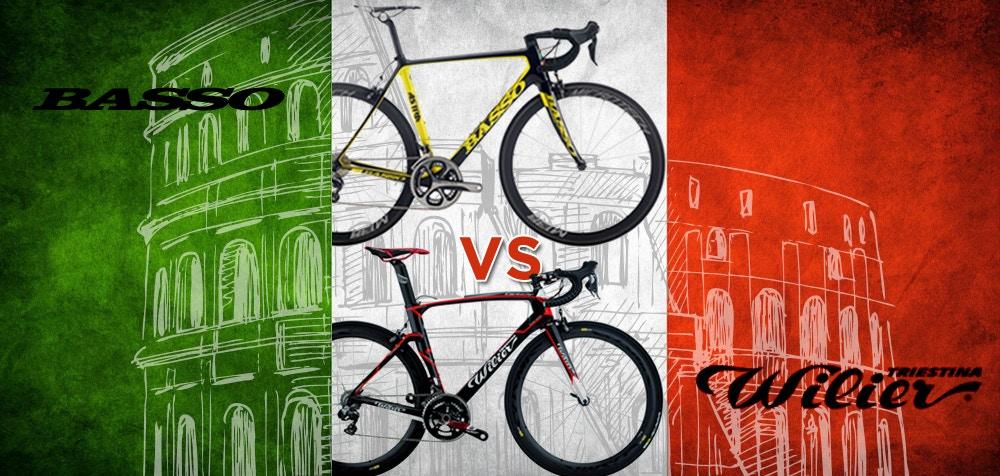 Basso vs. Wilier - Italienische Rennradkunst in Reinkultur