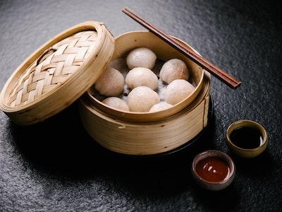 Mushroom Dumplings 8pc