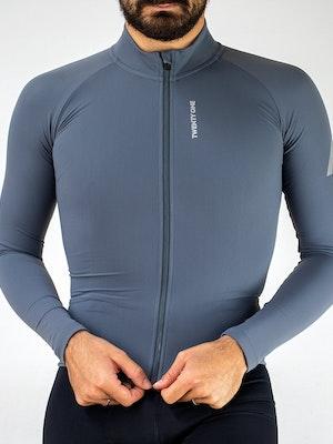 Twenty One Cycling Factory Thermal Jersey 2.0 - Grey - Men