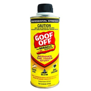 Goof Off FG654 Adhesive Oil And Tar Remover 474ml Professional Strength