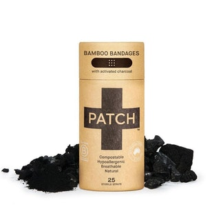 PATCH Activated Charcoal Bamboo Bandages - Tube of 25