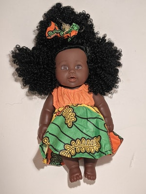 Designed by Florence Sena Ima Doll