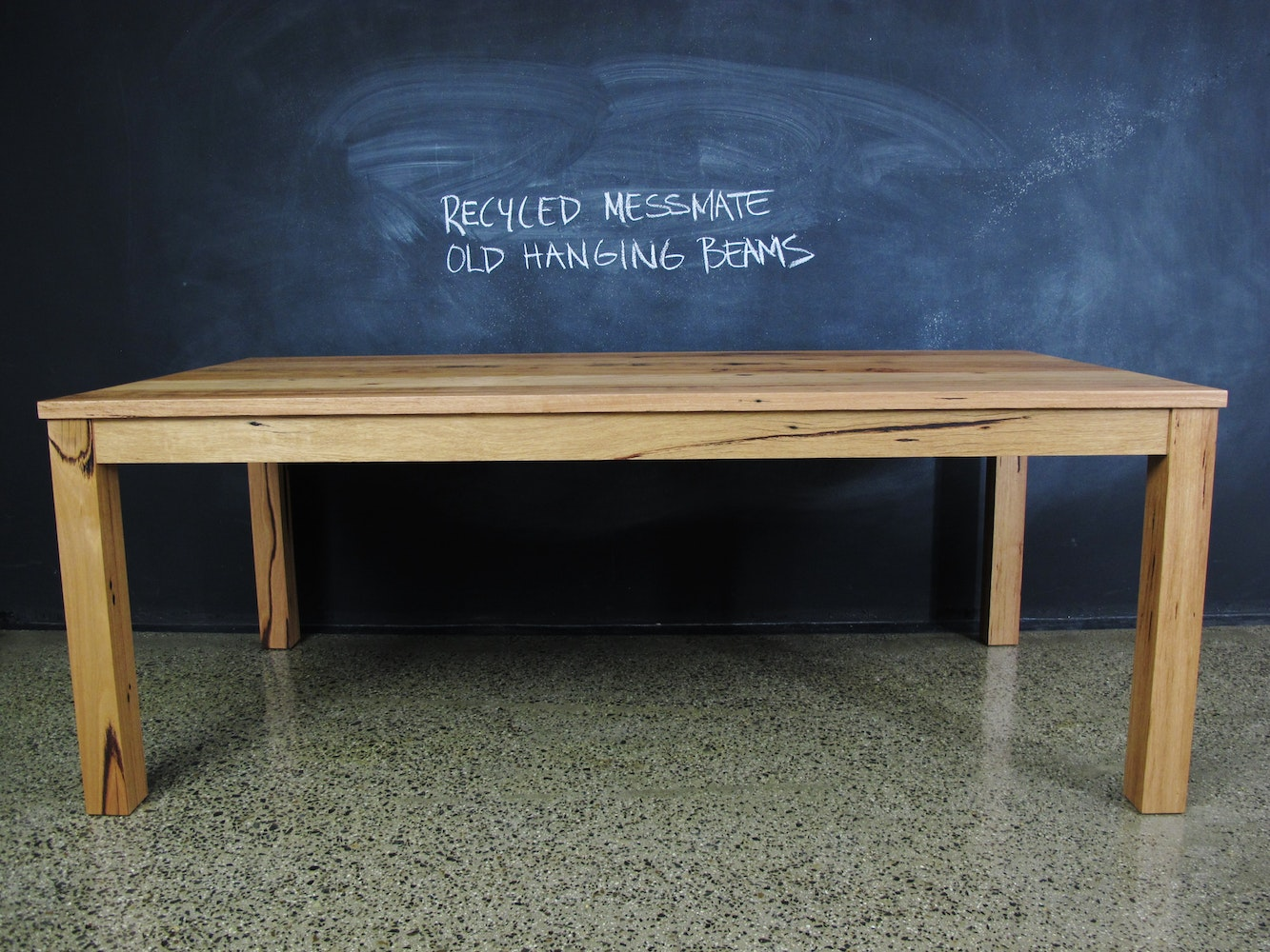 Christian cole furniture recycled messmate post and rail custom dining tables for sale in - Unique kitchen tables for sale ...