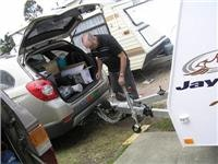 Jayco Discovery sheds  its Hayman Reese WDH as GoSee sets up camp at Park Lane, Traralgon