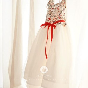 Summer Flower Dress (3mths-4yrs old)