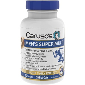 Caruso's Natural Health Caruso's Men's Super Multi