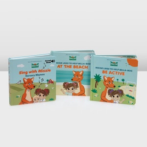 Mizzie the Kangaroo Books, Books, Books - Baby Gift Set