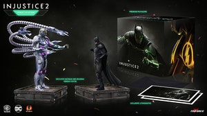 Injustice 2 Collector's Box with Batman and Brainiac Statues