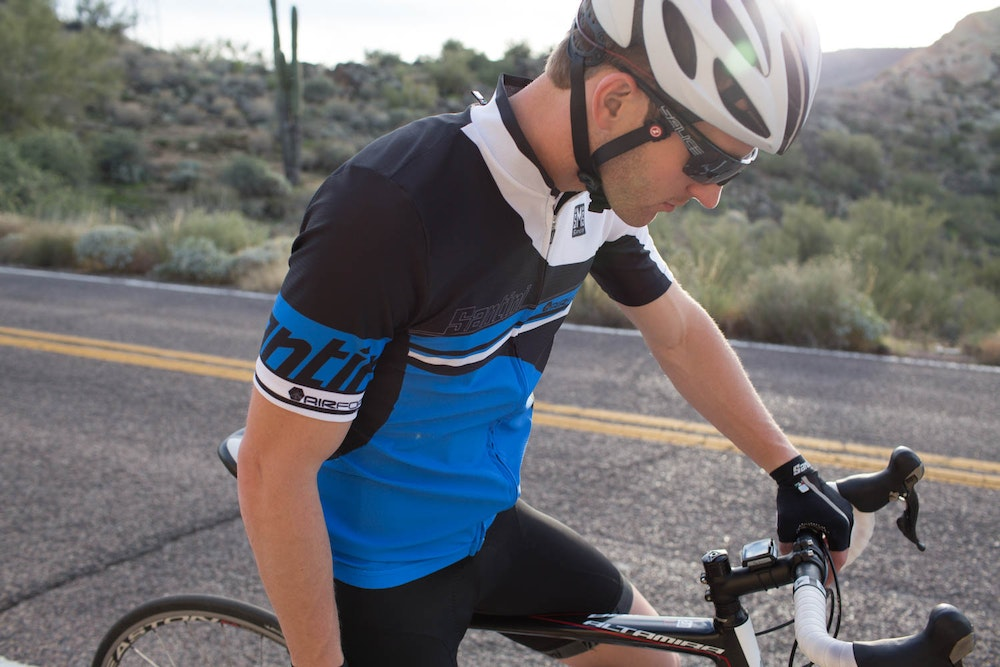santini cycling kit