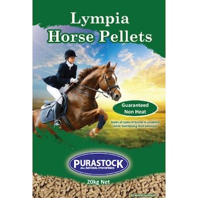 PURASTOCK Lympia Horse Conditioner Food Pellets 20kg