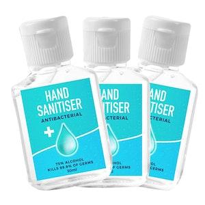250 30ml Unbranded Hand Sanitiser