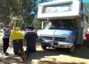 Motor homers leave a light footprint