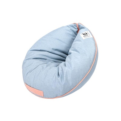Ibiyaya Snuggler Super Comfortable Nook Pet Bed - Dusty Blue