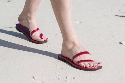 Twin Strap Thong Sandal
