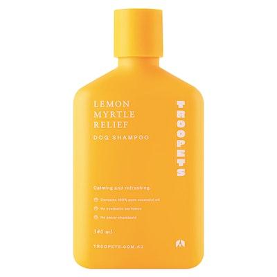 Troopets Lemon Myrtle Relief Dog Shampoo
