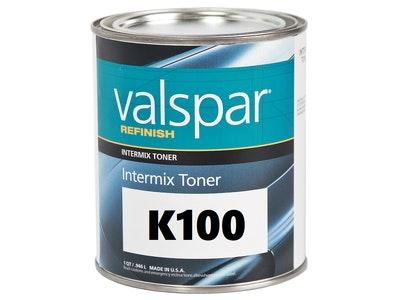 Valspar Refinish K100 Super Jet Black 1Qt
