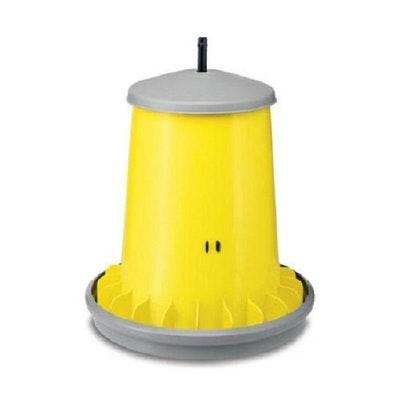 BAINBRIDGE Supreme Poultry Feeder with Cover – 5kg